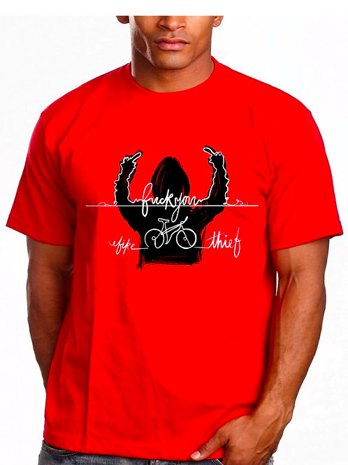 """Fuck You Bike Thief"" T Shirt Pre Order"