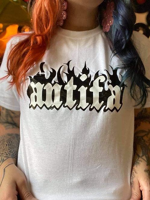 Antifa Graphic T Shirt