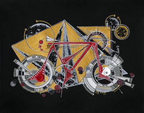 Red Bike Babe