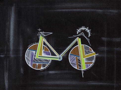 Chalkboard Bike