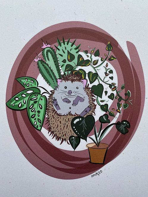Green Thumb Hedgehog
