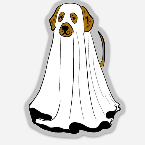 Boo Bark Sticker
