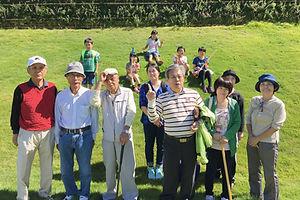 スポーツ大会 グラウンドゴルフ
