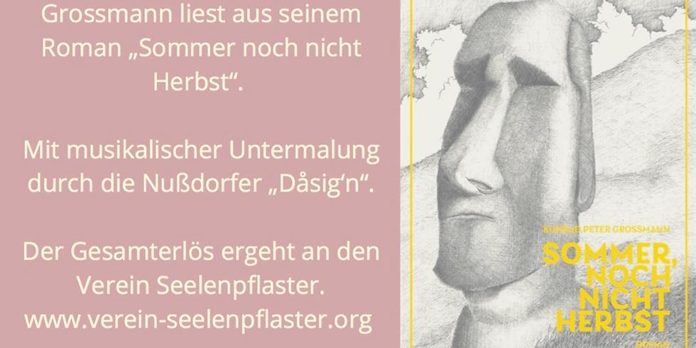 Benefiz Autorenlesung mit Konrad Grossmann