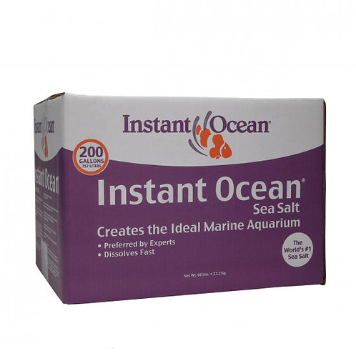 Instant Ocean Sea Salt Mix - 200 Gallon Box