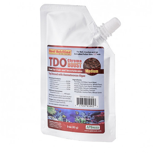 Reef Nutrition TDO Chroma Boost Pellet Fish Food