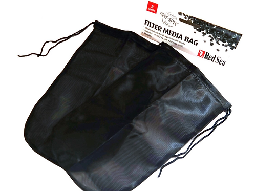 "Red Sea 2 Pack Reusable Filter Media Bag 10"" x 5.5"""