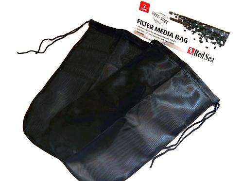 "Red Sea 2 Pack Reusable Filter Media Bag 10"" x 5.5"""