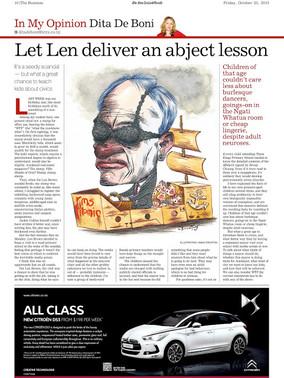 Let Len deliver an abject lesson