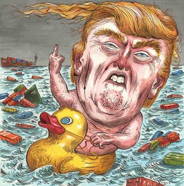 Playing in the Trade War bath