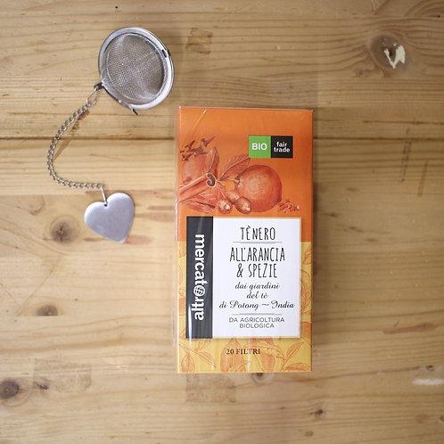 Tè nero Arancia e Spezie