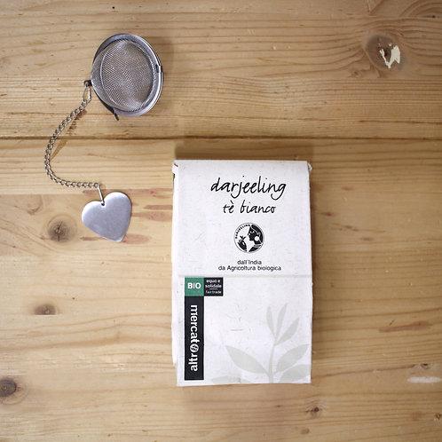 Tè bianco Darjeeling in foglie