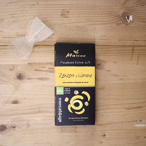 Mascao fondente Extra Zenzero e Limone