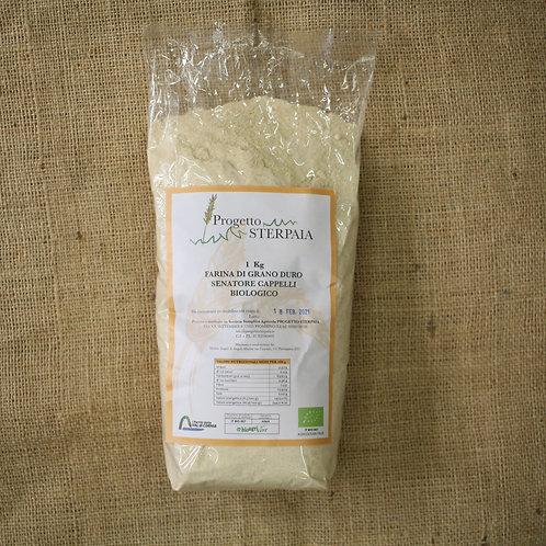 Farina grano duro Progetto Sterpaia