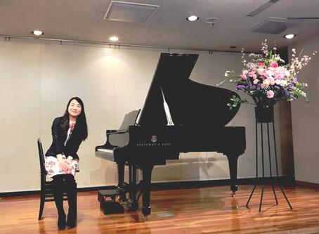 第1回ピアノ発表会 終了♪