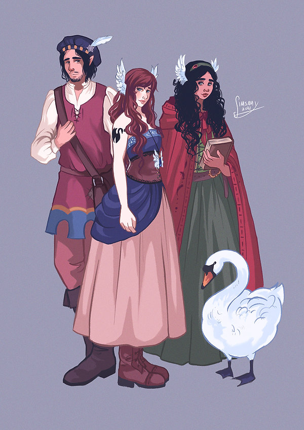 Leyk, Swanye and Kessa