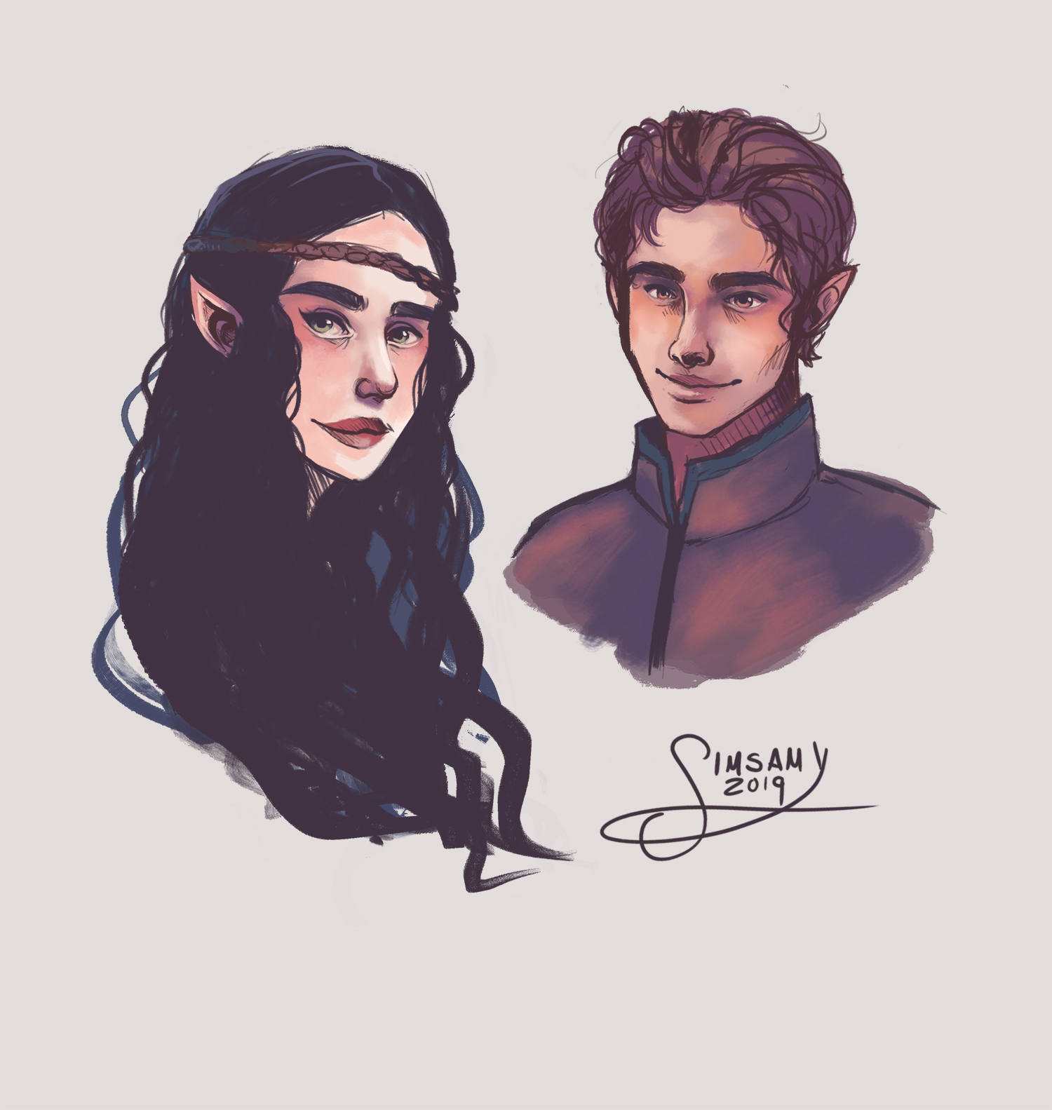 Arya and Eragon