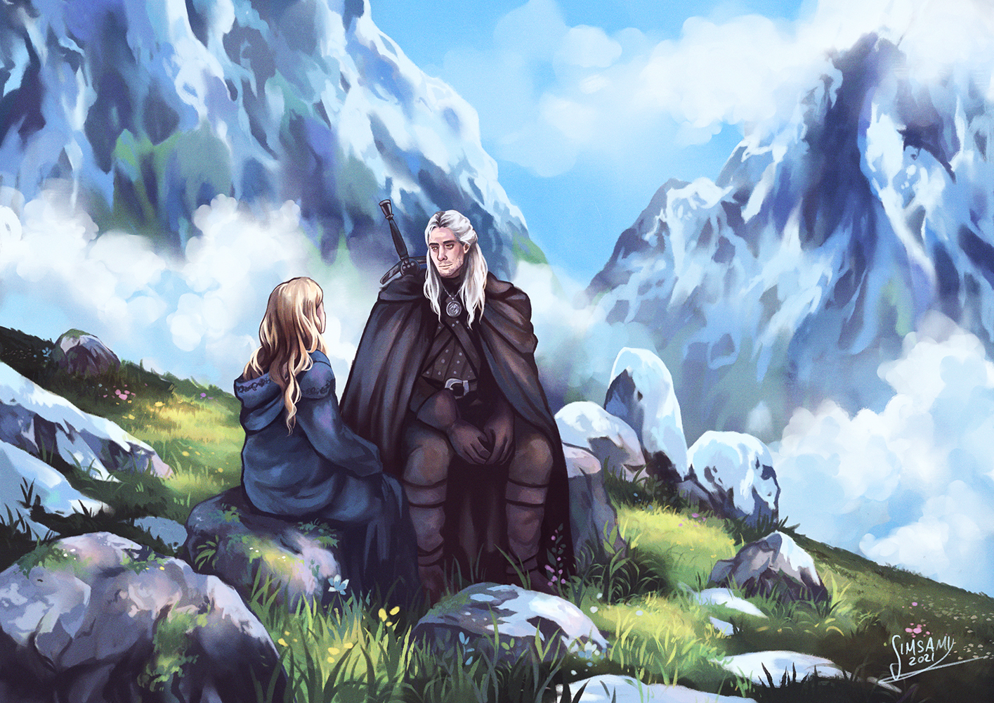 On the way to Kaer Morhen