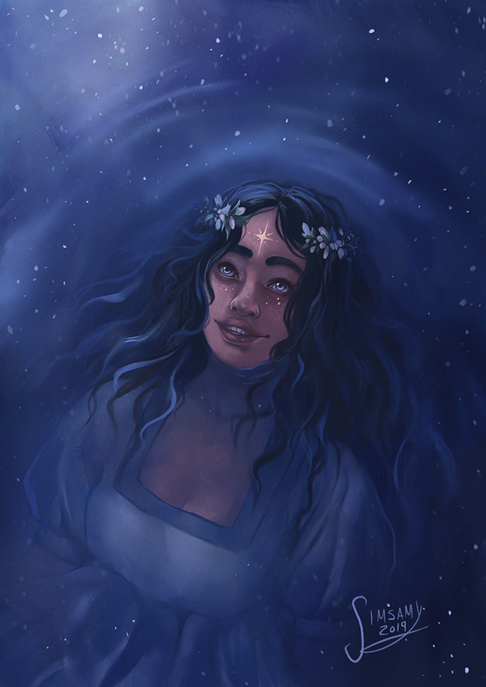 Under a sky full of stars