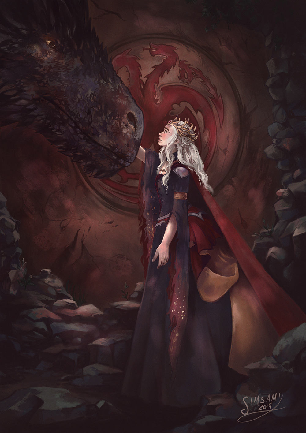 Daenerys Targaryen-The Dragon Queen