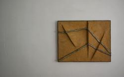 二條水泥與三處起伏的夯土 / undulate