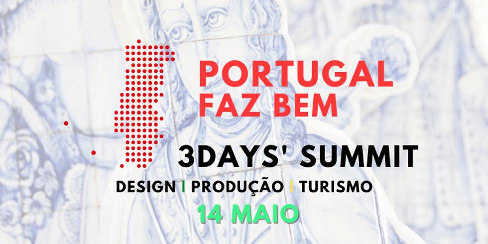 #PortugalFazBem 3Days' Summit   BILHETE 1 DIA