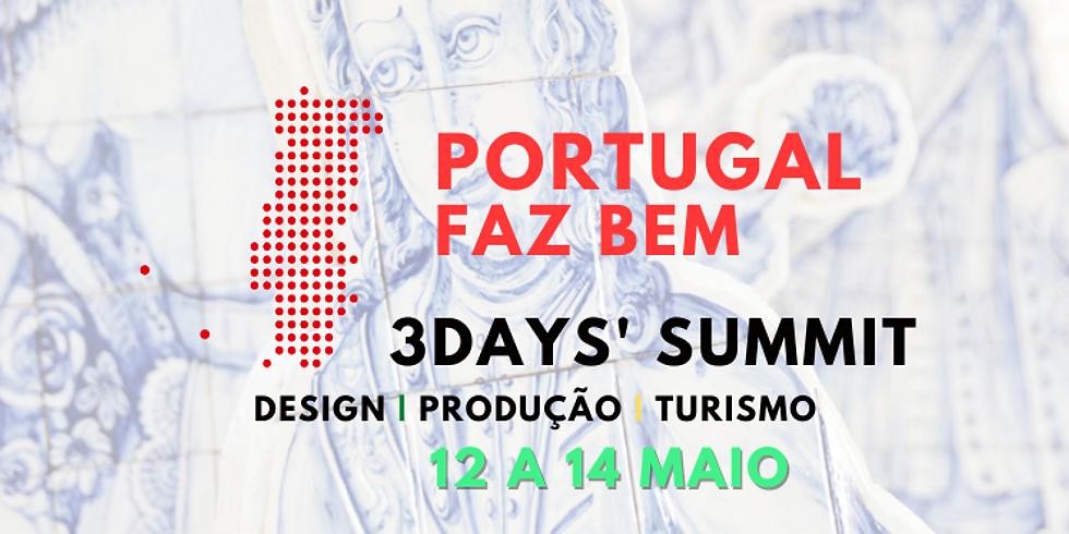 BILHETE 3 DIAS   #PortugalFazBem 3Days' Summit