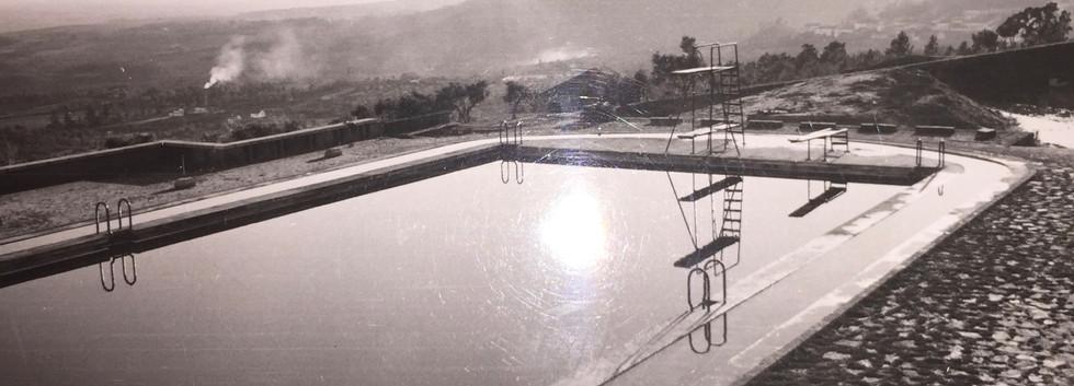 Construção da Piscina - anos 50's