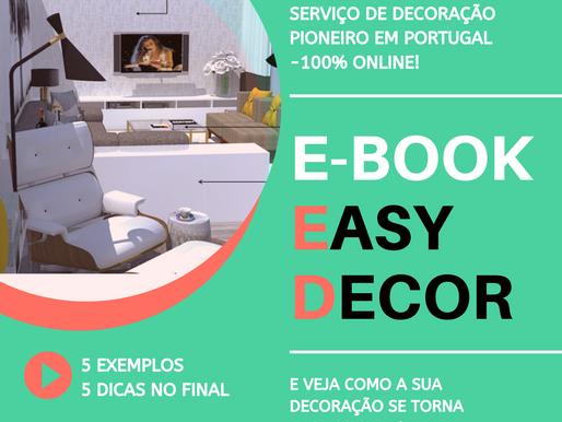 Já temos E-Books EasyDecor, peça já o seu!