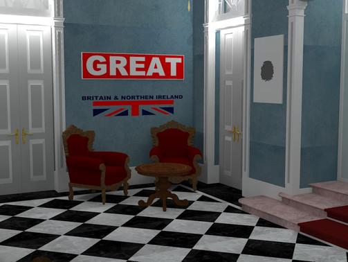 EasyDecor chegou à Embaixada Britânica