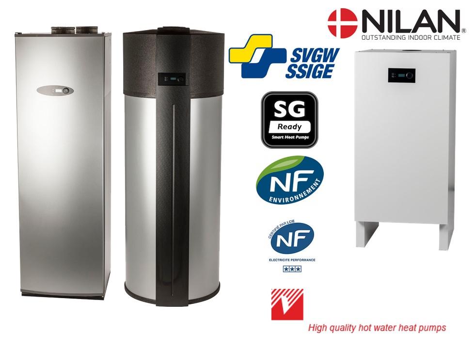 Nilan - Vesttherm VT warmtepomp boilers