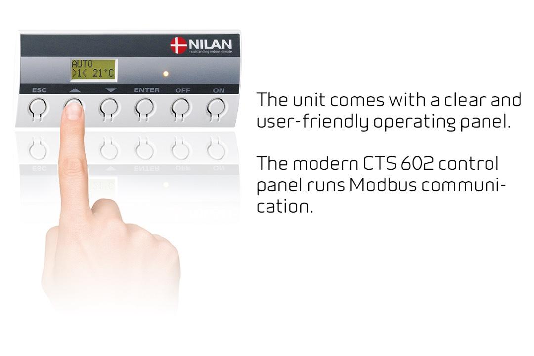 Nilan CTS 602 control VPL series