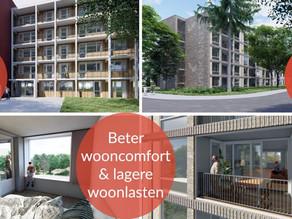 Compact S voor renovatie 74 appartementen in Zeist.