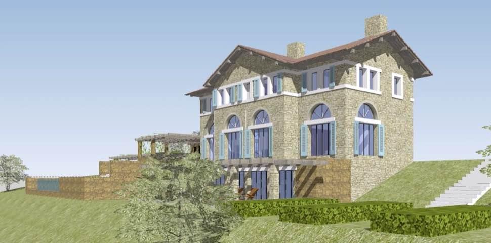 Makrigialos Villa front view