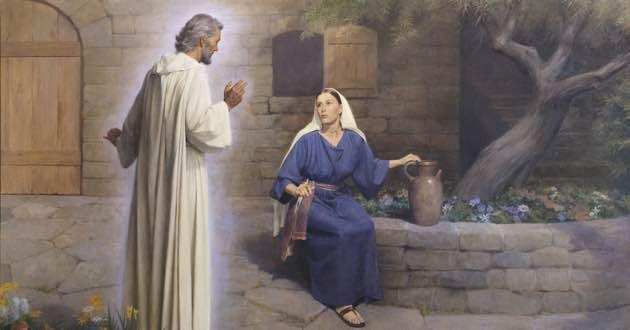 Annunciation archangel Gabriel to virgin Mary.