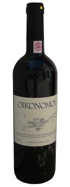 Economou Red wine.