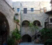 Toplou Monastery Courtyard