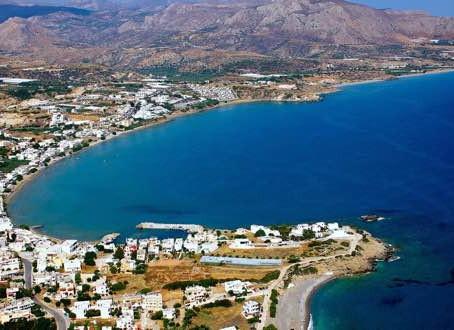 Makrigialos holidays in East Crete.