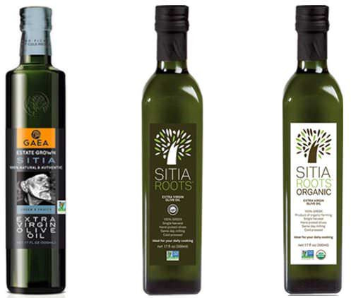 Gaea olive oil from Sitia in East Crete.