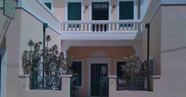 Entrance Folklore museum in Sitia, East Crete.