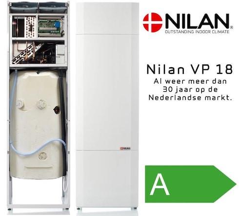 Nilan VP 18 ventilatie warmtepomp