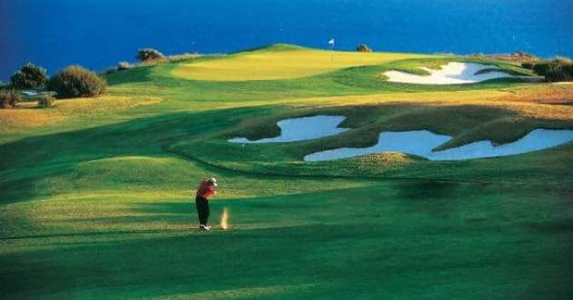 East Crete Golf Course.