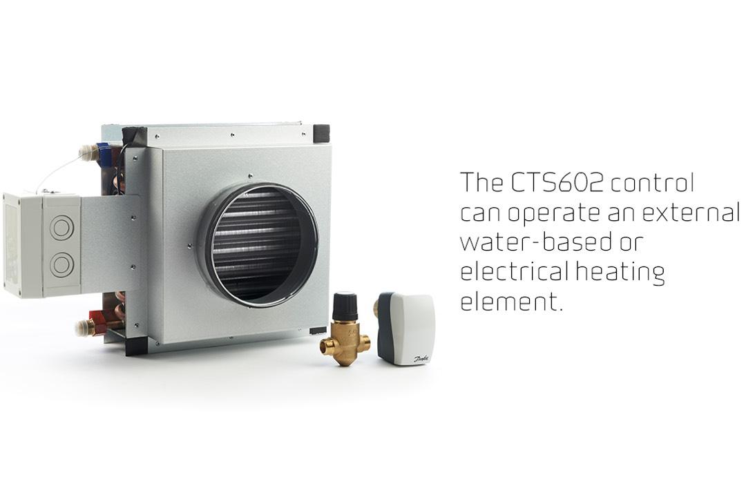 Nilan Comfort CT300 verwarming