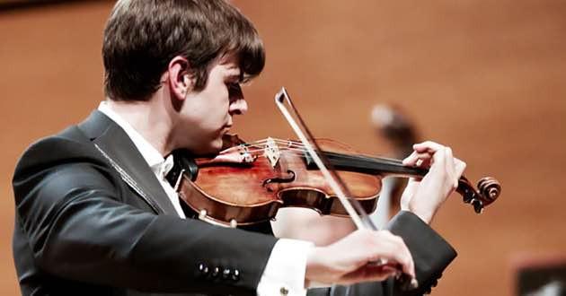 Violinist Gennaro Cardaropoli.