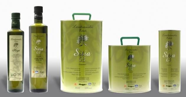 Lantzanakis olive oil products, from Sitia.