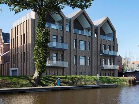 Nilan Compact P voor 5 passiefhuis gecertificeerde appartementen.