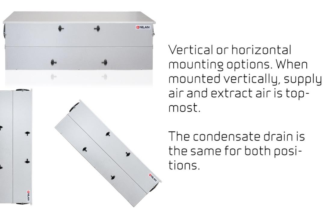 Comfort CT200 installatie