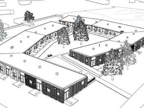 Woningstichting Woonservice kiest de Compact S voor 21 woningen in Veenoord.