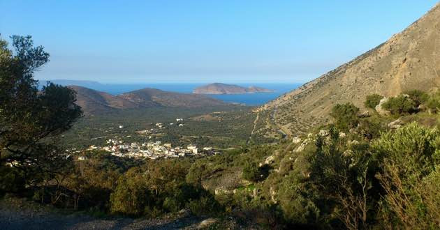 The village of Kavousi in East Crete.
