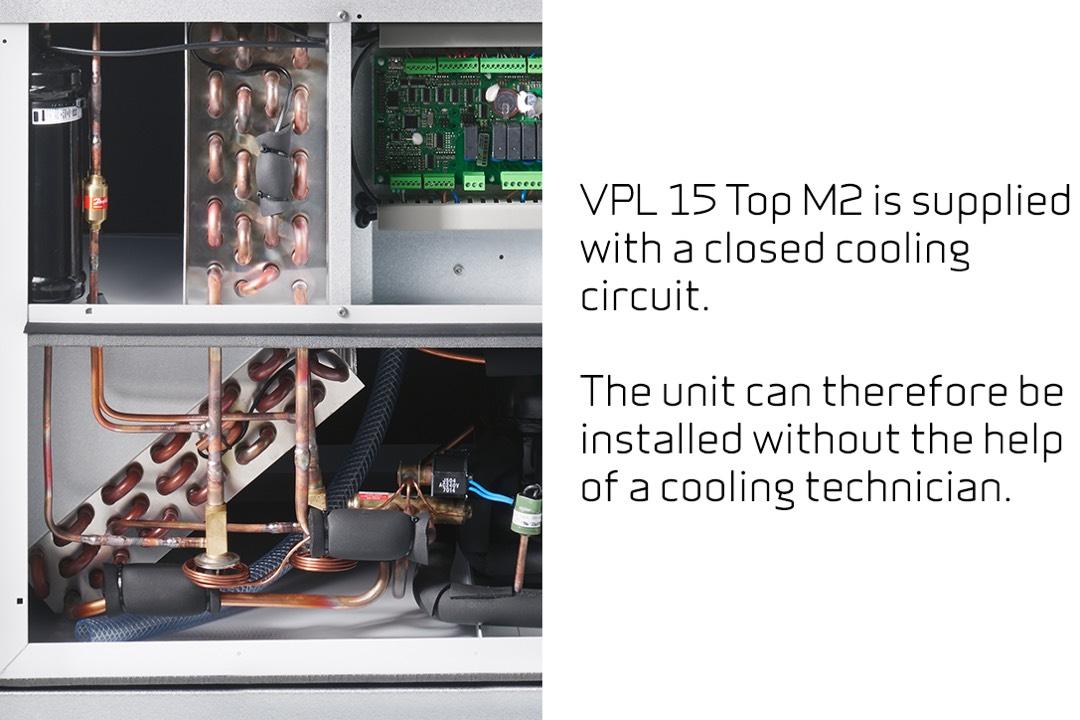Nilan VPL 15 Top M2 comfort koeling
